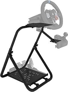 「最新改良版」Racing Wheel Stand レーシングホイールスタンド 高さと傾きの自由に調整できる Logitech G25 / G27 / G29 / G920, Thrustmaster T300RS GT / T300RS / ...