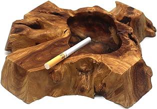 Stili Casuali Unico A Mano Posacenere Sigaro Di Legno Irregolare Legno Decorativo Posacenere Tabacco Per Casa E Ufficio