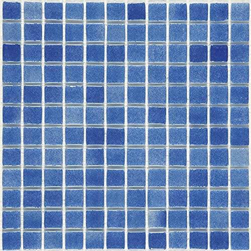 e-ceramica 8436028840595 Mosaico Cristal Azul