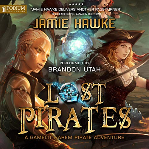Lost Pirates audiobook cover art