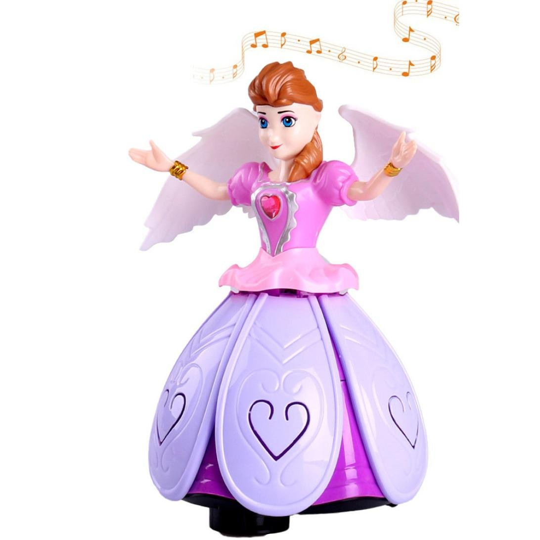 SWING /& SINGING WHITE PRINCESS TOY FOR GIRLS LIGHT /& SOUND IDEAL GIFT !