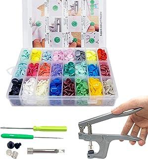 comprar comparacion SUNTATOP Alicates de Presión + 360 Set Resin T5 Botones de Plástico Botón de Presión de Resina DIY 24 Colores (Conjunto de...