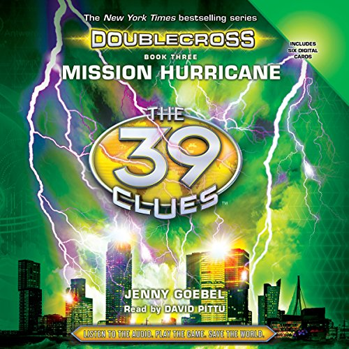 Mission Hurricane audiobook cover art