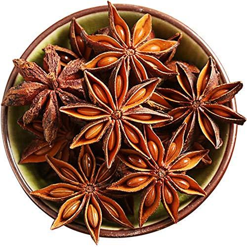Glorious Inheriting origen asiatico natural anis estrellado de tamano general con Peso Neto de 1,000 gramos