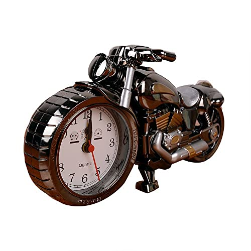 Towallmark Luxury Retro Style Motorcycle Alarm Clockunique Gift For Motor Loverskids