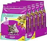 Whiskas, croquettes pour chat, nourriture sèche pour chat adulte - Lot de 5