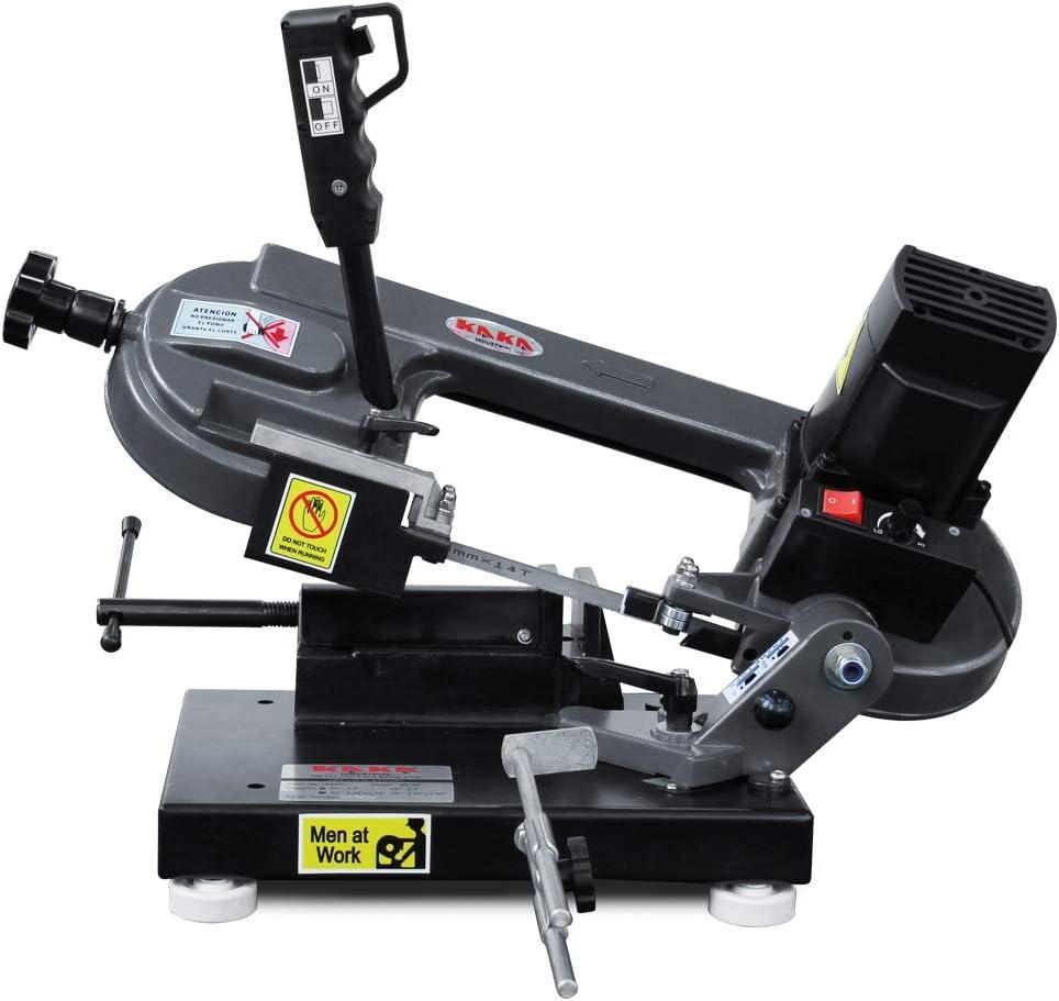 Kaka Industrial BS-85 110V-60HZ-1PH New Max 62% OFF York Mall Metal Band Cutting Saw Meta