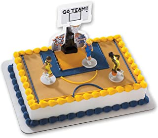 Basketball All Net DecoSet Cake Decoration - Boys