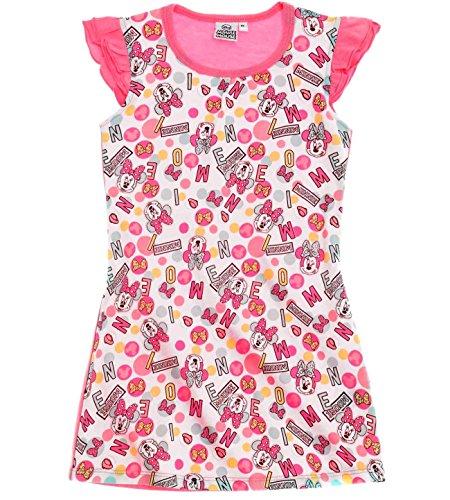 Minnie Mouse Kollektion 2018 Nachthemd 98 104 110 116 122 128 134 140 Neu Nachtwäsche Nachtrobe Disney (Rosa, 98-104)