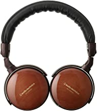 Audio-Technica ATH-ESW990H Portable Wooden On-Ear Headphones