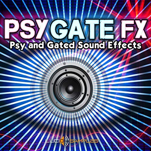 Psygate FX – Original and Unusual Gated Sound Effects| Apple Loops/ AIFF (24Bit) DVD non BOX