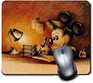 Vintage Rabbit Mouse PadCustom Mouse PadVintage Mouse PadHome OfficeOffice GiftsMonogram Mouse PadOffice SuppliesVintage Rabbit