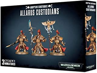 Games Workshop Warhammer 40,000 Adeptus Custodes Allarus Custodians Miniatures
