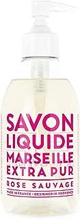 Compagnie de Provence Savon de Marseille Extra Pure Liquid Soap - Wild Rose - 10 Fl Oz Plastic Pump Bottle