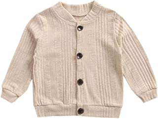 1a8f8496e665 ACVIP Little Girl s Cotton Knit Button Down Solid Color Cardigan