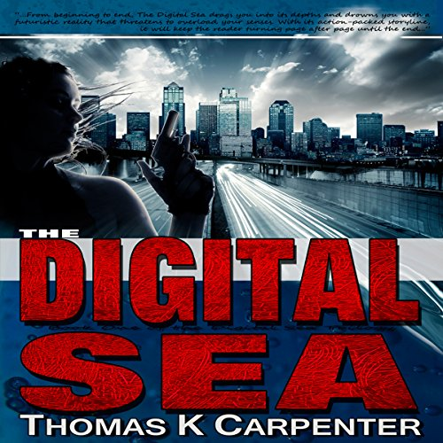 The Digital Sea audiobook cover art