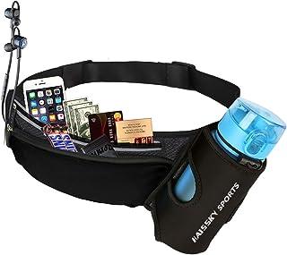 comprar comparacion Guzack Riñonera Deportivo Bolso Cintura Cinturón Running Belt Bolsa de Correr Impermeable para iPhone X XR XS Plus Teléfon...
