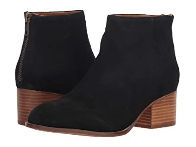 Seychelles Floodplain Bootie (Black Suede) Women