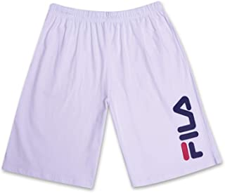 Fila Big and Tall Mens Cotton Jersey Active Gym Shorts with Adjustable Waistband