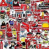 Etitulaire Sticker Marque,50 Pcs Sticker Autocollant pour Décorer Sticker pour Moto/Ordinateur Portable/Vélo/Skateboard/Masque