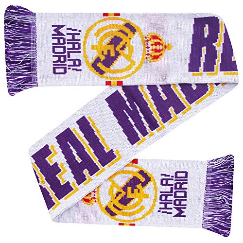 Real Madrid Schal, 100 % Acryl