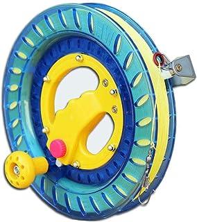 Outil denroulement Pas de z/éro 50 m Durable et roulement /à billes Poign/ée ergonomique b NAMYA Pi/èces de rechange Plastique ext/érieur 100 mA Rouge Enrouleur de ligne de cerf-volant