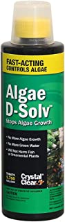CrystalClear Algae D-Solv - EPA Registered Algaecide - 16 Ounces Treats 5,760 Gallons