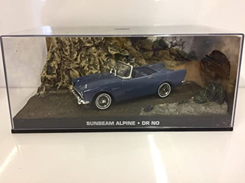 007 James Bond Car Collection  17 Sunbeam Alpine (Doctor No)