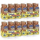 SPLENDA Diabetes Care Shakes - Meal Replacement Shake, 8 Fluid Ounces Per Bottle (Milk Chocolate, 24 Pack)