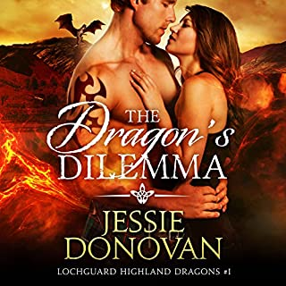 The Dragon's Dilemma     Lochguard Highland Dragons, Book 1              By:                                                                                                                                 Jessie Donovan                               Narrated by:                                                                                                                                 Matthew Lloyd Davies                      Length: 7 hrs and 16 mins     165 ratings     Overall 4.6
