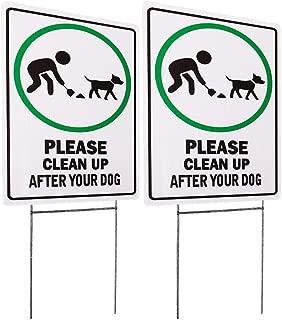 Best metal dog yard signs Reviews