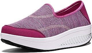 Bitiger - Scarpe da passeggio da donna, leggere, traspiranti e comode, in rete, per tennis, palestra, corsa, scarpe da gin...