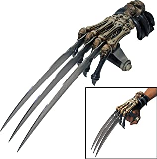 Ace Martial Arts Supply Skull & Bones Gauntlet Style Hand Claws