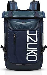 Mochila de Viaje 15.6 Pulgada Ordenador Portátil Backpack Camping Mochila de Montañismo Hombre Mujer Impermeable Poliéster Azul