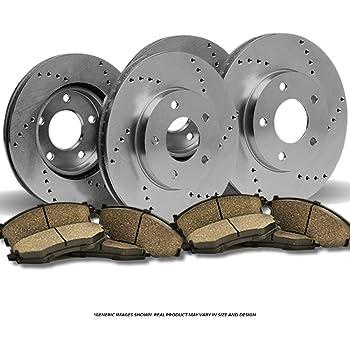 2007 2008 2009 Fits Hyundai Santa Fe OE Replacement Rotors w//Ceramic Pads R
