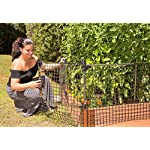 Frame-It-All Stack & Extend Animal Barrier 6 Connects to anchor or stacking joints in Frame It All raised garden beds (for other applications, stake directly into the ground) Durable plastic and stainless-steel construction Keeps out small to large sized animals