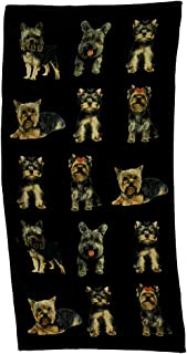 Towelworld Yorkie Dog Beach Towel