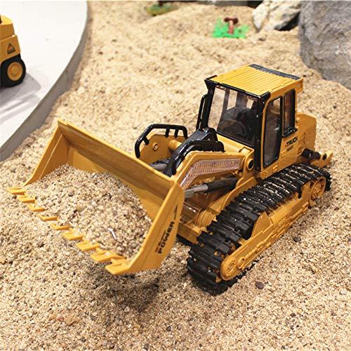FairOnly 1:16 RC Camion Bulldozer Dumper Caterpillar Trattore MO-DELLo Ingegneria Auto Escavatore Push Suolo Musica Effetti di luce Giocattoli per bambini giocattoli