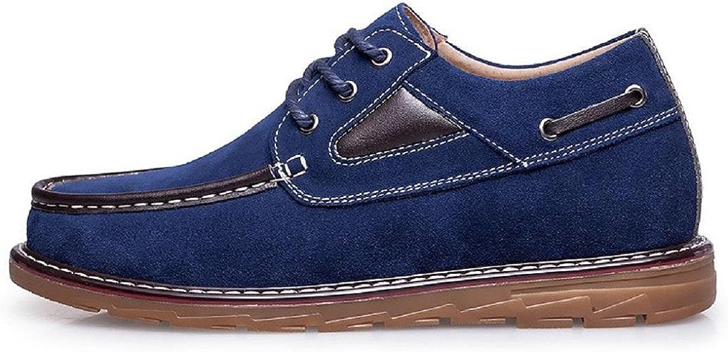 Homme Le nouveau Chaussures décontractées Loisir Chaussures en cuir Chaussures d'outillage Entreprise Antidérapant Lumière Antidérapant Augmenter les chaussures EUR TAILLE 38-46