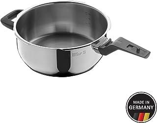 WMF Premium Cuerpo Olla Ultra Rápida De, Acero Inoxidable, Plata, 22 cm
