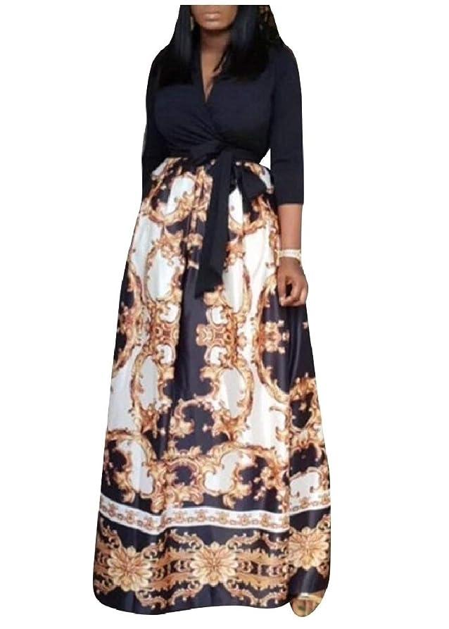 ラダコンテンポラリー外交Tootess 女性帝国帝国ウエストチュニックラップフロントフルサークルロングドレス