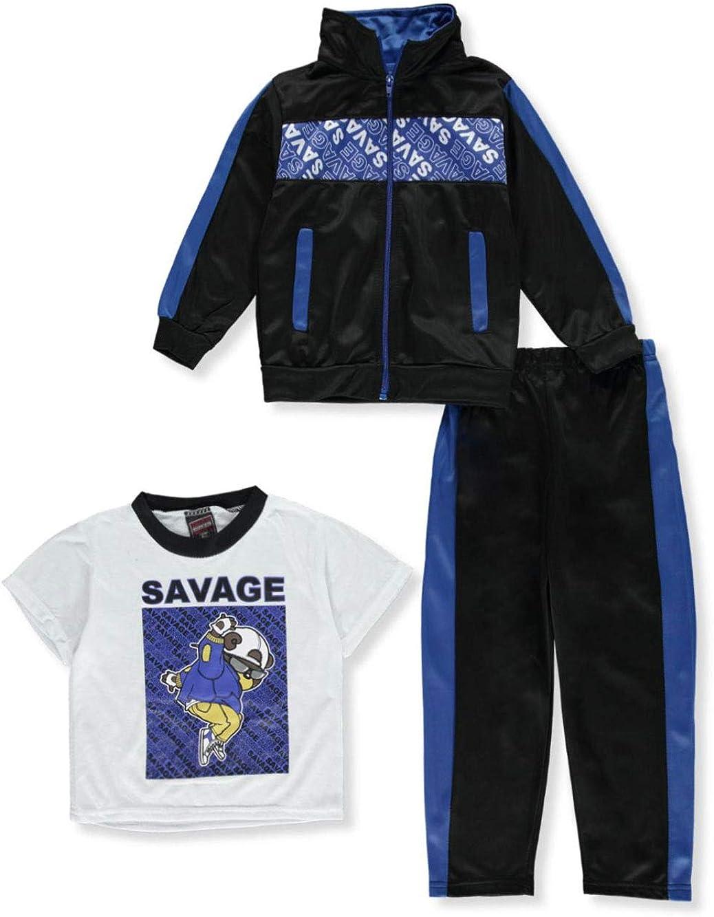 Quad Seven Boys Panel 23 2-Piece Sweatsuit Outfit