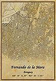 Paraguay Fernando de la Mora Wandkunst-Poster,