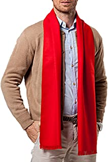 Panegy Men Cashmere Scarves Long Winter Scarf Casual Warm Thick Wap Business Men