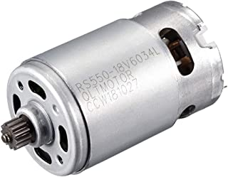 uxcell DC 18V 20500RPM Electric Gear Motor 12 Teeth for Cordless Screwdriver