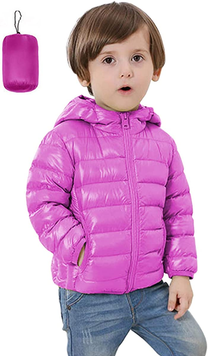 FOURSTEEDS Kids Ultra Light Weight Hooded Coat wit Max SEAL limited product 88% OFF Puffer Sherpa