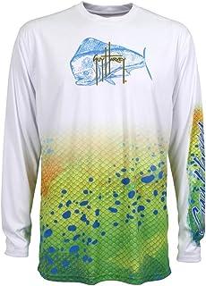 Guy Harvey Men's Del Mar Long Sleeve Performance Shirt