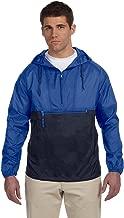 Harriton Packable Nylon Jacket>4XL ROYAL/NAVY M750