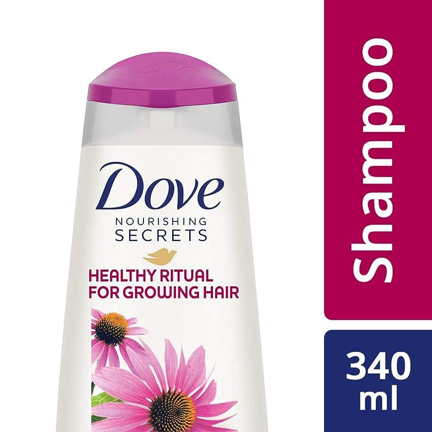 放射性注入歩き回るDove Healthy Ritual for Growing Hair Shampoo, 340 ml (Coneflower, Oil and White Tea)