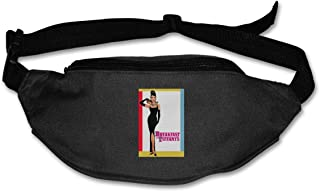 Fanny Pack For Women Men Audrey Hepburn Breakfast At The Tiffany's Movie Poster Waist Bag Pouch Travel Pocket Wallet Bum Bag For Running Cycling Hiking Workout
